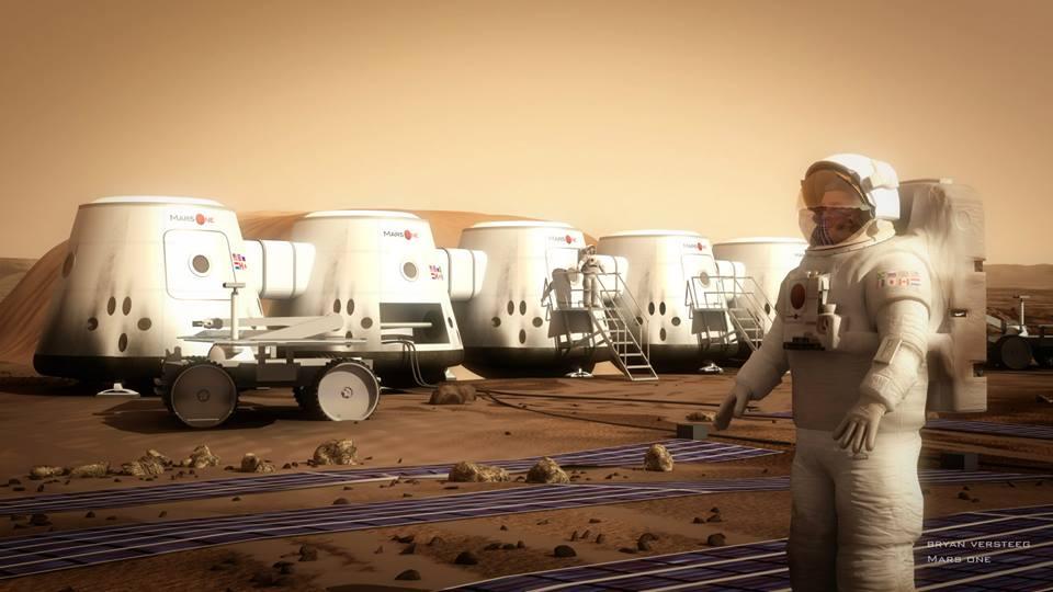 Модель начальной колонии на Марсе проекта Mars One. Изображение 2.