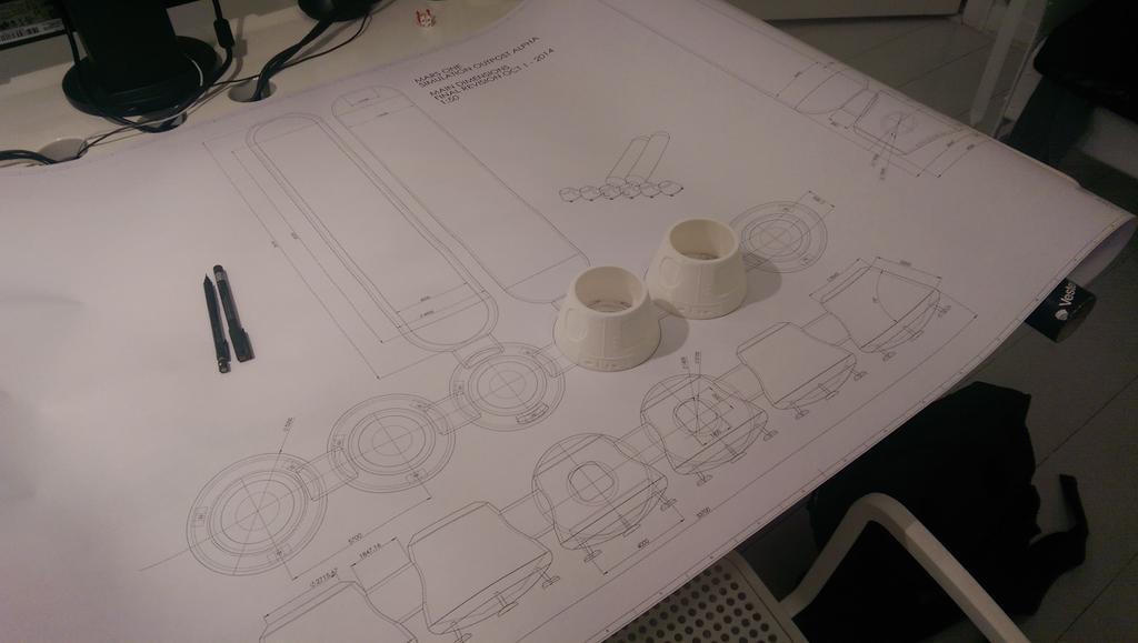 Фото рабочего процесса над проектированием модулей колонии проекта Mars One. Изображение 3.