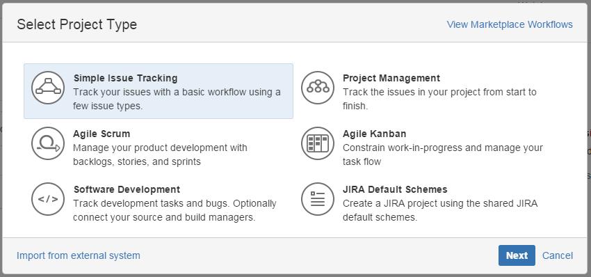 Варианты базовых workflow в JIRA
