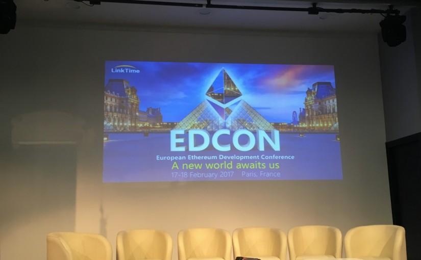 Результаты Ethereum конференции Edcon в Париже