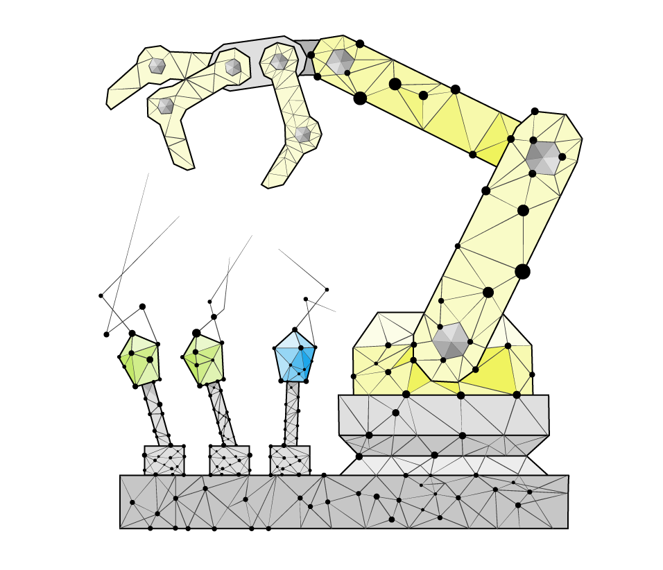 Polygonal-robot